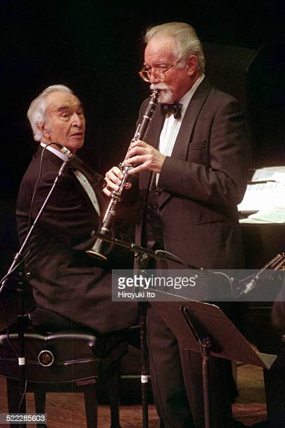 Dave Brubeck and his group performing on Monday night March 22 2004This imageDave Brubeck left and William O Smith known as Bill Smith on clarinet