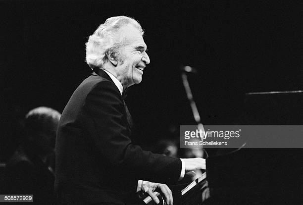 Dave Brubeck, piano, performs at Carre on 12th November 1990 in Amsterdam, Netherlands.