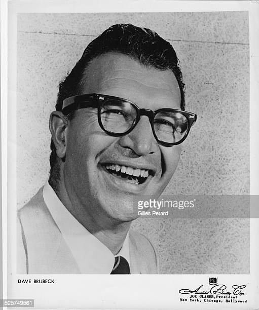 Dave Brubeck , studio portrait, USA, 1958.