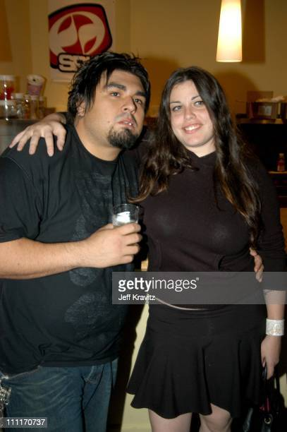 Dave Buckner of Papa Roach and Mia Tyler during Rock da HouseA Benefit for Convenant HouseFashion Show and All Star Jam at Quixote Studios in...