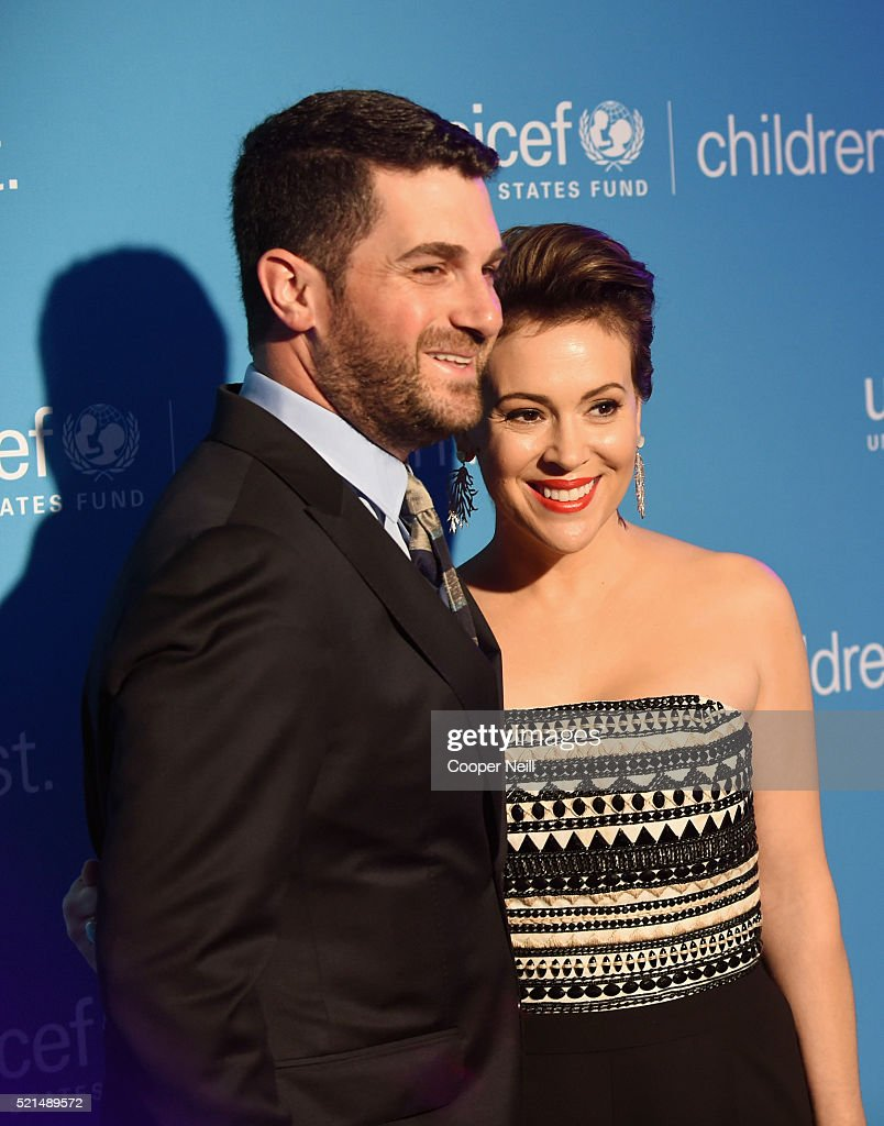 Children First. An Evening With Unicef Honor Alyssa Milano, Pier 1 Imports' And Sterling McDavid : News Photo