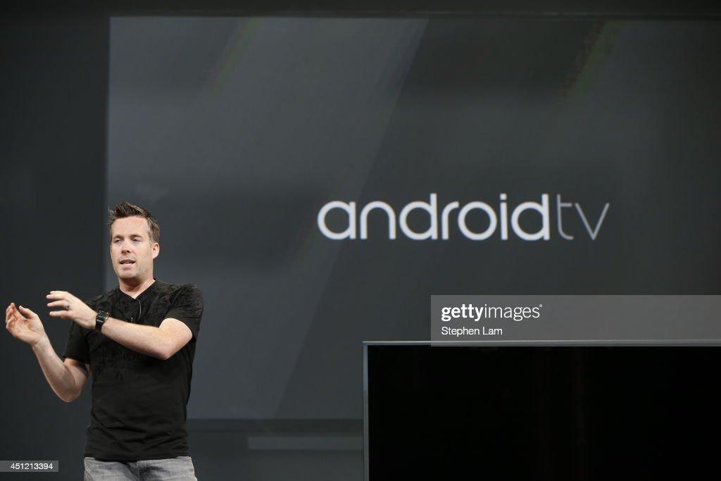Google Hosts Its Annual I/O Developers Conference : Foto di attualità