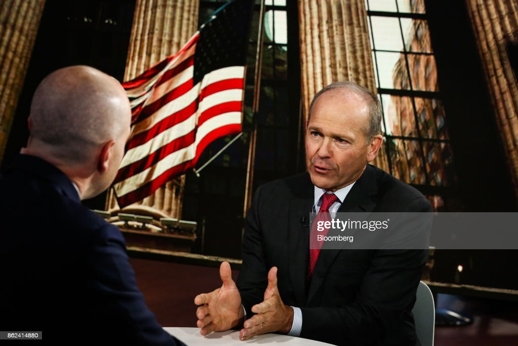 Blackstone Group LP Head Of Private Equity Portfolio Operations Dave Calhoun Interview : News Photo