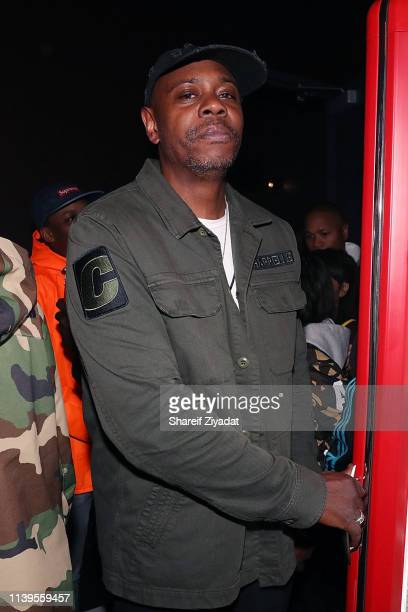 Dave Chappelle attends Jay-Z Performs At Webster Hall - Backstage at Webster Hall on April 26, 2019 in New York City.