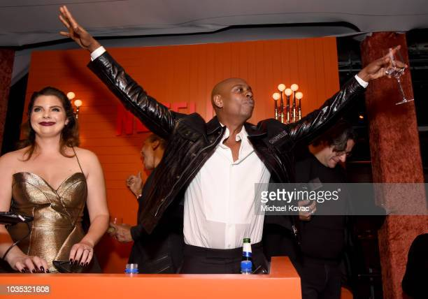 Dave Chappelle attends the 2018 Netflix Primetime Emmys After Party at NeueHouse Hollywood on September 17 2018 in Los Angeles California