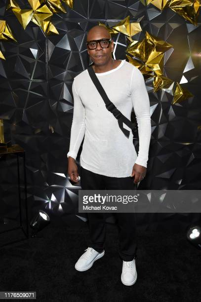 Dave Chappelle attends the 2019 Netflix Primetime Emmy Awards After Party at Milk Studios on September 22, 2019 in Los Angeles, California.