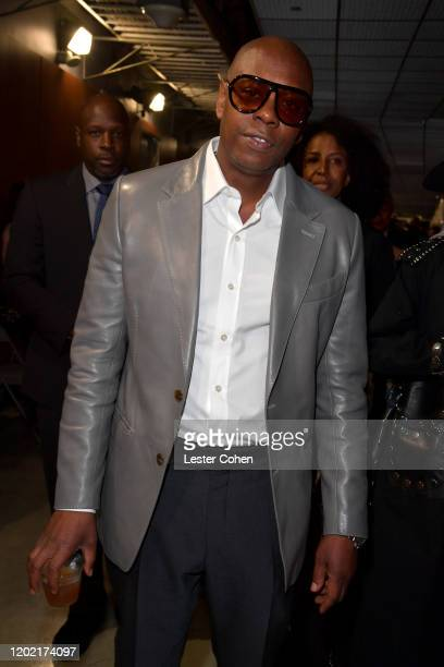 Dave Chappelle attends the 62nd Annual GRAMMY Awards at STAPLES Center on January 26, 2020 in Los Angeles, California.