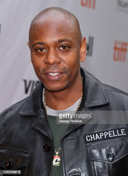 Dave Chappelle attends the A Star Is Born premiere during 2018 Toronto International Film Festival at Roy Thomson Hall on September 9 2018 in Toronto...