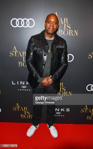 Dave Chappelle attends the Audi Canada And Links Of London CoHosted PostScreening Event For A Star Is Born During The Toronto International Film...