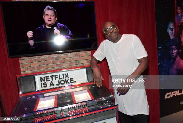 Dave Chappelle attends the Netflix FYSee Kick Off Party at Raleigh Studios on May 6 2018 in Los Angeles California