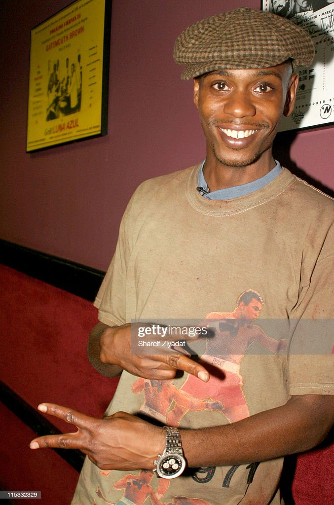 Dave Chappelle and Friends Perform in New York City - September 17, 2004
