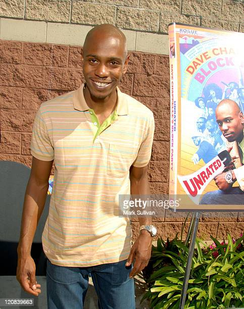 Dave Chappelle during Dave Chappelle InStore Appearance to Celebrate the DVD Release of 'Dave Chappelle's Block Party' at Best Buy in Los Angeles...