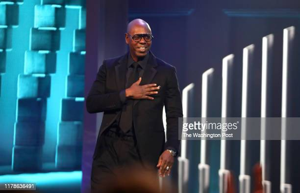 Dave Chappelle during the Mark Twain award at the Kennedy Center.
