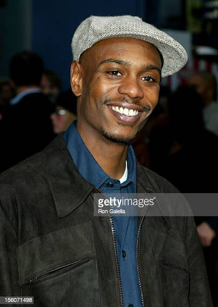Dave Chappelle during 'Undercover Brother' Premiere at Universal Citywalk in Universal City California United States