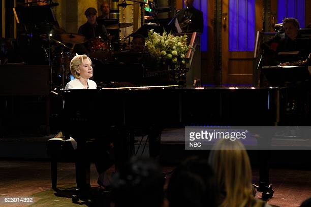 LIVE Dave Chappelle Episode 1710 Pictured Kate McKinnon as Hillary Clinton sings Leonard Cohen's Hallelujah during the Election Week Cold Open sketch...
