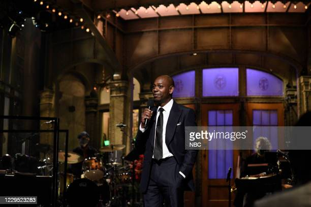 """Dave Chappelle"""" Episode 1791 -- Pictured: Host Dave Chappelle during the monologue on Saturday, November 7, 2020 --"""