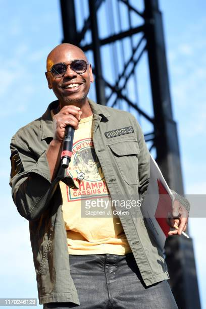 Dave Chappelle host Dave Chappelle's Block Party on August 25, 2019 in Dayton, Ohio.
