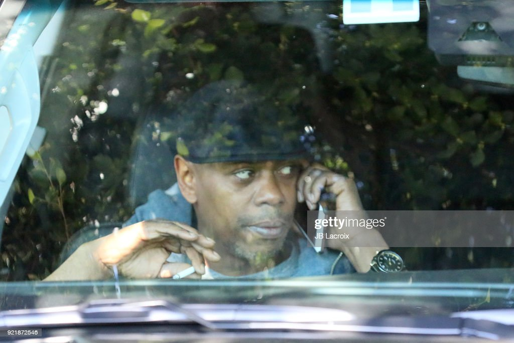 Dave Chappelle is seen on February 20, 2018 in Los Angeles, California.