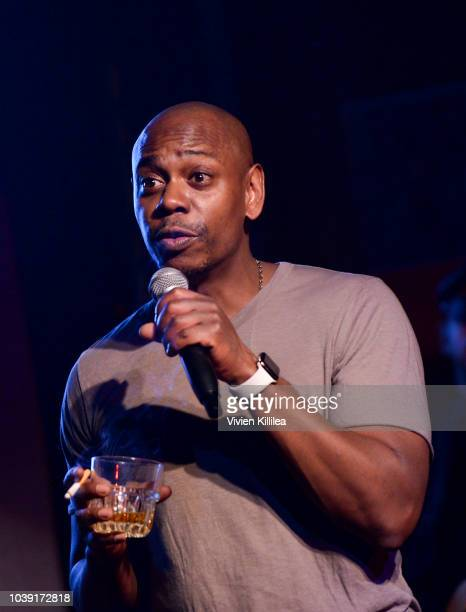 Dave Chappelle performs at The Imagine Ball Honoring Serena Williams Benefitting Imagine LA Presented By John Terzian Val Vogt on September 23 2018...