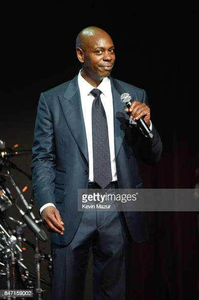Dave Chappelle speaks onstage during Rihanna's 3rd Annual Diamond Ball Benefitting The Clara Lionel Foundation at Cipriani Wall Street on September...