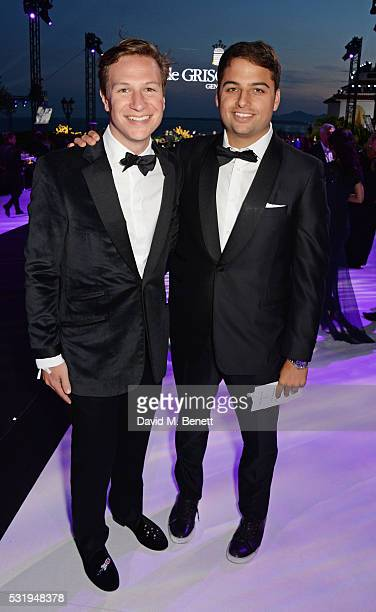 Dave Clark and Jamie Reuben attend the de Grisogono party during the 69th Cannes Film Festival at Hotel du CapEdenRoc on May 17 2016 in Cap d'Antibes...
