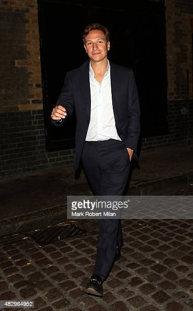 Dave Clark at the Chiltern Firehouse on August 4 2015 in London England