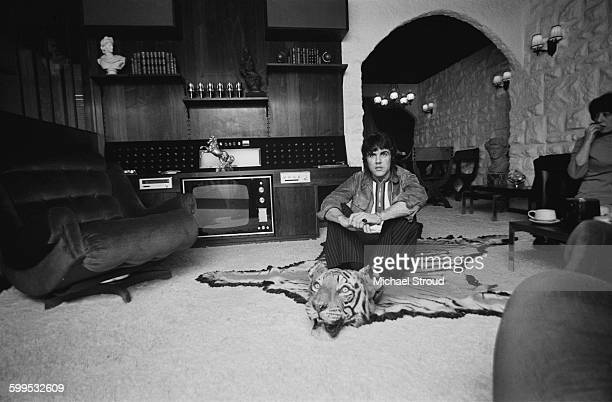 Dave Clark lead singer of the beat group The Dave Clark Five at home UK 24th November 1967