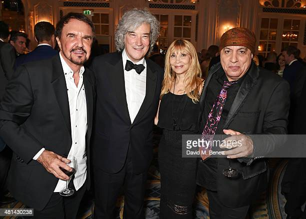 Dave Clark producer Karl Sydow Maureen Van Zandt and Stevie Van Zandt attend an after party following the press night performance of 'Sinatra At The...