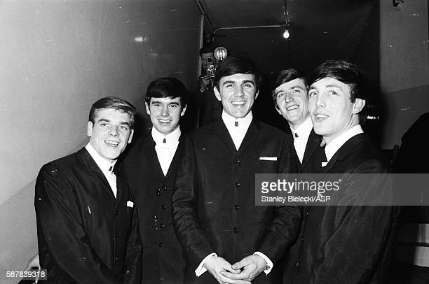 Dave Clarke 5 group portrait United Kingdom circa 1965 LR Lenny Davidson Denis Payton Dave Clark Rick Huxley Mike Smith