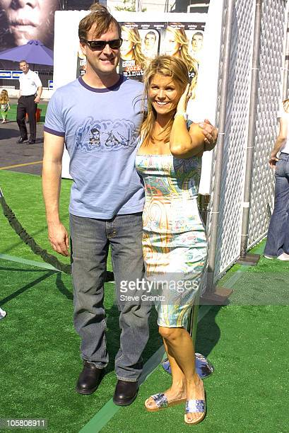 Dave Coulier and Lori Loughlin during New York Minute World Premiere Arrivals at Grauman's Chinese in Hollywood California United States