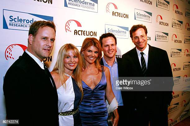 Dave Coulier, Candace Cameron Bure, Lori Loughlin, Scott Weigner and Bob Saget attend the Cool Comedy-Hot Cuisine Benefit for the Scleroderma...