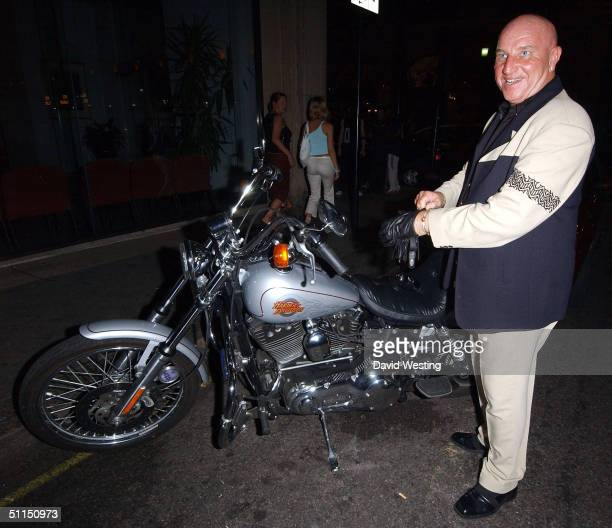 Dave Courtney attends the joint birthday bash for glamour model Linsey Dawn McKenzie and Elite Clubbing boss Dan Machmias on August 7 2004 at Nell's...