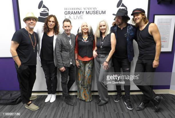 Dave Darling Eric Dover Derek Frank Brie Darling Cherie Currie Dave Schulz Matt Oloffson at the Grammy Museum in Los Angeles California on August 1...
