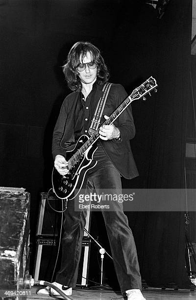 Dave Davies performing with The Kinks at Bergen Community College in Paramus New Jersey on March 11 1979
