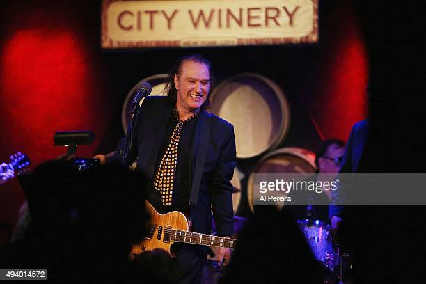 Dave Davies performs at City Winery on October 23 2015 in New York City