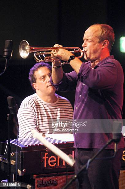 Dave Douglas, trumpet, performs with Uri Caine on October 24th 2002 at the BIM huis in Amsterdam, the Netherlands.
