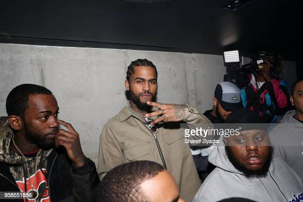 Dave Easr attends 070 Shake 'The Glitter LP' Release Party at Public Arts on March 26 2018 in New York City