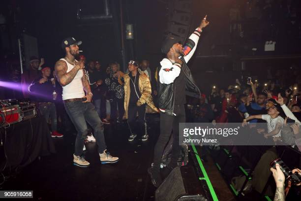 Dave East and Tory Lanez perform at Irving Plaza on January 16 2018 in New York City