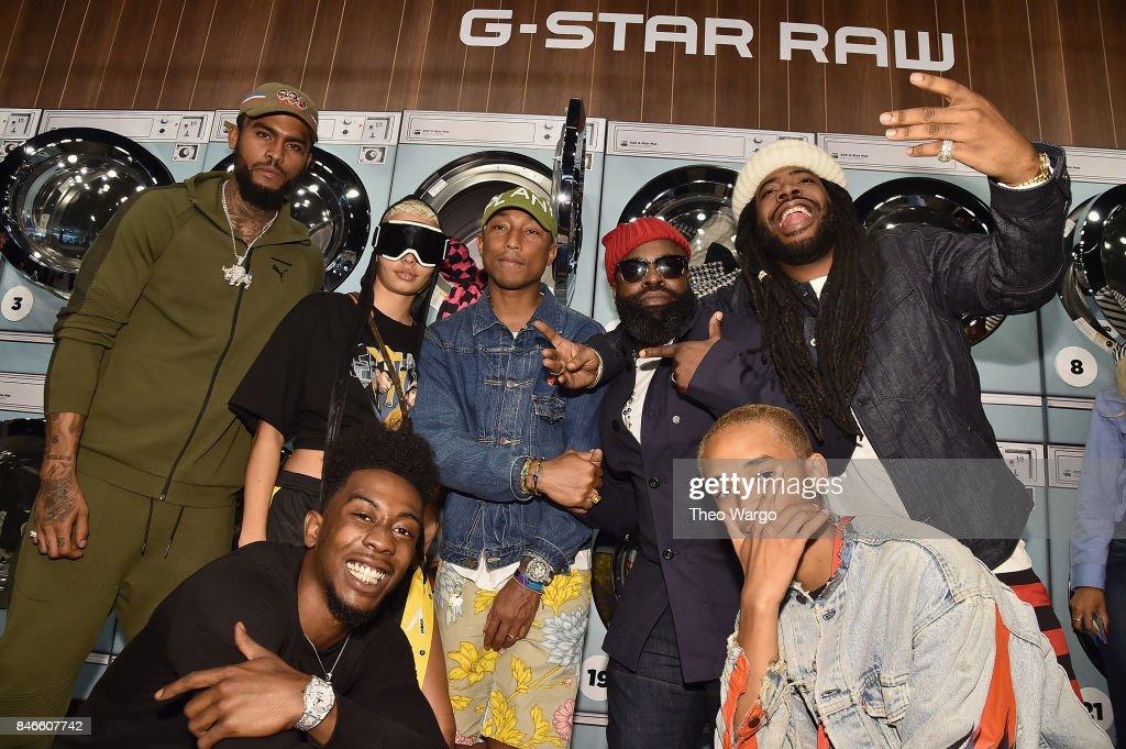 Pharrell Williams And G-Star RAW Present The New G-Star Elwood X25 Prints - New York Fashion Week - Spring/Summer 2018