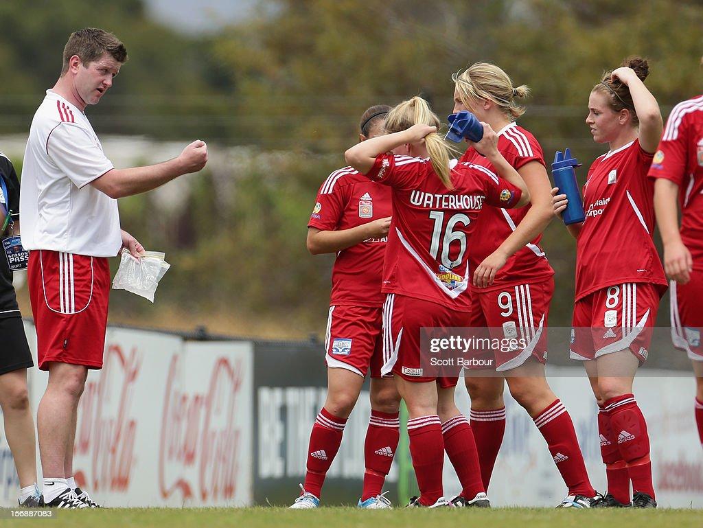 W-League Rd 6 - Adelaide v Sydney : News Photo