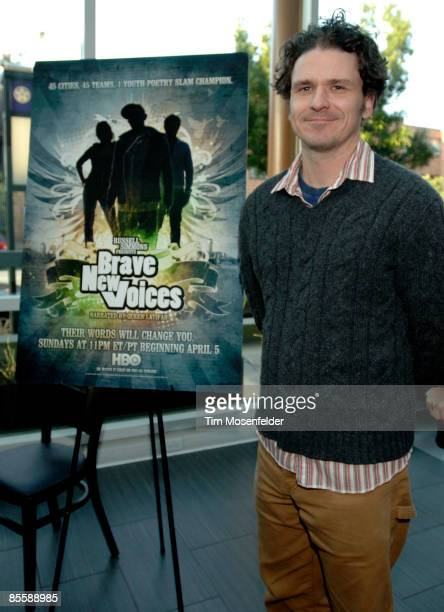 Dave Eggers attends the Premiere of HBO's Brave New Voices Youth Speaks at the Sundance Kubuki Cinemas on March 24 2009 in San Francisco California
