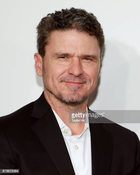 Dave Eggers attends the premiere of 'The Circle' during the 2017 Tribeca Film Festival at Borough of Manhattan Community College on April 26 2017 in...
