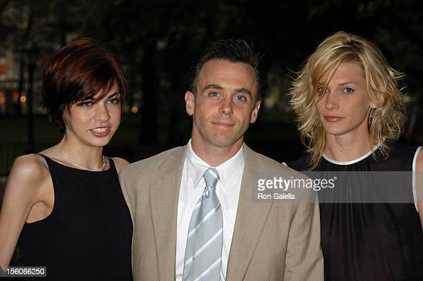 Dave Eigenberg with wife Chrysti during 'Sex and the City' Sixth Season Premiere Outside Arrivals at American Museum of Natural History in New York...