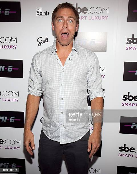 Dave England attends Mi6 Nightclub Grand Opening Party on September 15 2009 in West Hollywood California