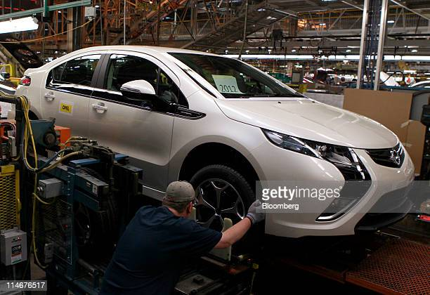 Opel Ampera Stock Photos And Pictures Getty Images