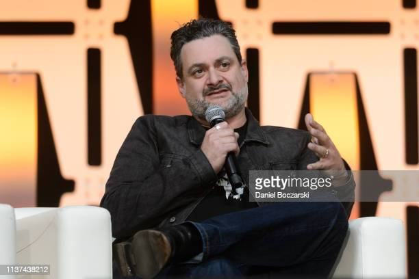 Dave Filoni attends Star Wars Celebration at McCormick Place Convention Center on April 14, 2019 in Chicago, Illinois.
