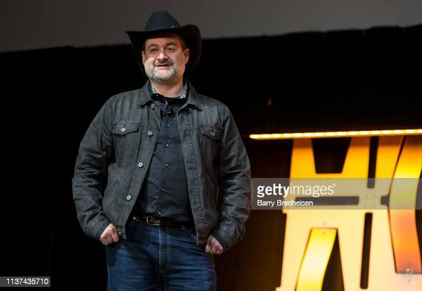 Dave Filoni during the Star Wars Celebration at McCormick Place Convention Center on April 14, 2019 in Chicago, Illinois.