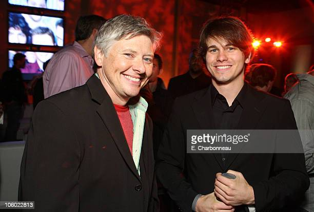 Dave Foley and Jason Ritter during Entertainment Weekly Magazine 4th Annual Pre-Emmy Party - Inside at Republic in Los Angeles, California, United...