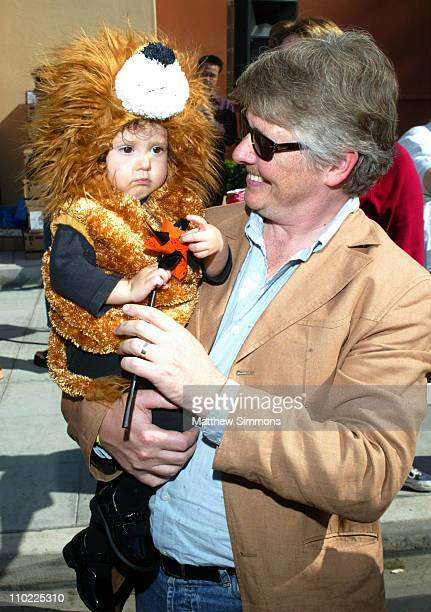 Dave Foley and 'The Little Lion King' Alina Foley during Halloween Screening of 'The Incredibles' to Benefit the Diabetes Research Institute at Walt...