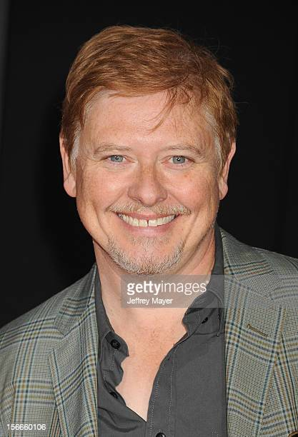 Dave Foley arrives at the Los Angeles premiere of 'WreckIt Ralph' at the El Capitan Theatre on October 29 2012 in Hollywood California